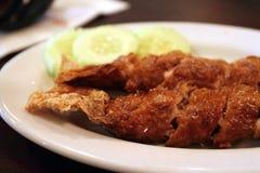 是一个名菜在马来西亚的槟榔岛Lobak 免版税库存图片