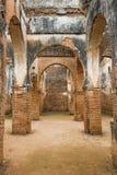 是世界遗产在拉巴特Chellah的内部  免版税库存照片