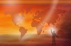 是人力世界 免版税图库摄影