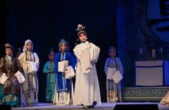 """是北京Opera""""杨Family†的妇女将军的孝顺儿子 免版税库存照片"""