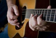 是吉他guitaris重要资料使用了 库存照片