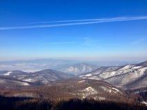 是完全地愉快的听到i,如果图象山感谢使用冬天会您的地方 免版税库存照片