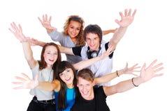 是幸福年轻人 库存图片
