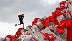 是您为圣诞节准备 混合画法 库存照片