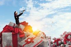 是您为圣诞节准备 混合画法 库存图片