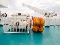 是捕鱼生活居住的新的人省用筏子运送泰国uttaradit水井 免版税库存图片