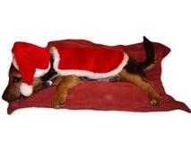 是有圣诞老人 图库摄影