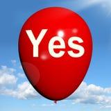 是气球意味肯定的认同和把握 向量例证