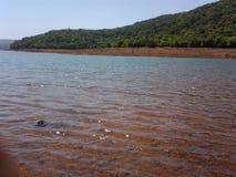 水是生活,未来的救球水 免版税库存图片