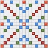 是纵横填字谜比赛的拼字游戏 免版税库存照片