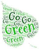 是绿色生态 免版税库存照片