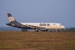 是航空公司股票图象 免版税图库摄影