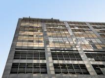 是被修理的大厦 图库摄影