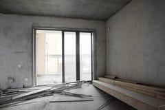 是被更新的房子 免版税库存照片