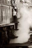 是让蒸汽那里 免版税图库摄影