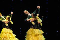 是陶醉这的法国康康舞这奥地利的世界舞蹈 图库摄影