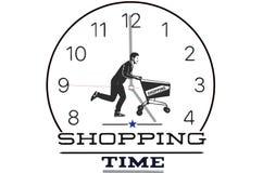 是购物的时间 免版税库存图片
