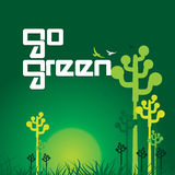 是绿色回收 免版税库存照片