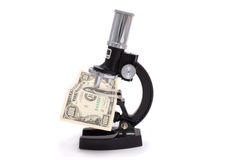 显微镜 免版税图库摄影