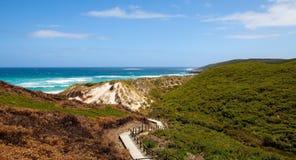 显眼的海滩 免版税库存照片