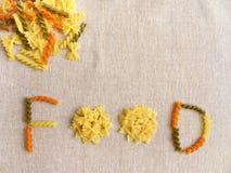 面团食物 免版税图库摄影