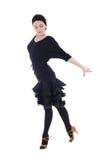显示一些的舞蹈演员拉丁美州的姿势 免版税库存图片