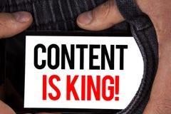 显示内容的文本标志是Motivational Call国王 概念性在流动Scree写的照片战略网上互联网数字式seo 库存照片