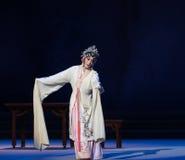 """显示原始的形状这第三次行动男性黄色酒Kunqu Opera""""Madame白色Snake† 免版税库存图片"""