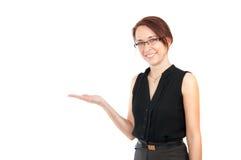 显示妇女的区空白商业 免版税库存照片