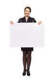 显示妇女的商业 库存照片