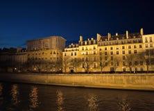 显示巴黎的大厦 库存照片