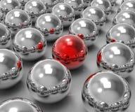 显示引人注意的独特的球形 免版税库存图片