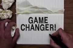 显示比赛更换者的文字笔记 企业照片陈列的体育数据记分员Gamestreams活比分合作Admins人holdi 免版税库存图片