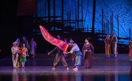 """显示海丝绸Road†最美好的丝绸舞蹈戏曲""""The梦想  免版税库存图片"""
