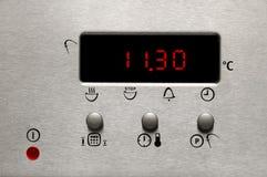 显示现代烤箱 免版税库存图片