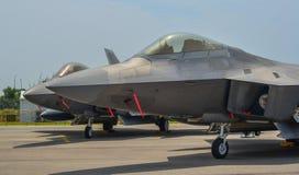 显示的军用飞机在新加坡 库存图片