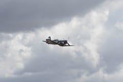 显示的Vought F4U-1A海盗 库存照片