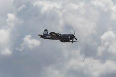 显示的Vought F4U-1A海盗 库存图片