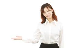 显示符号妇女年轻人的亚洲空白现有&# 库存图片