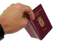 显示passeport 库存照片