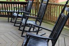 晃动三的椅子 免版税图库摄影
