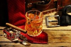 晃动威士忌酒 免版税库存照片