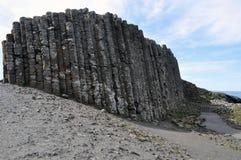 晃动爱尔兰巨人的堤道 免版税库存图片