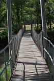 晃动的桥梁 免版税库存图片