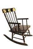 晃动s的古色古香的椅子子项 库存图片