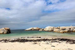 晒日光浴海滩组人松弛的场面 图库摄影