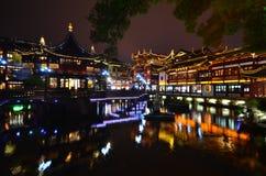 晚上上海 图库摄影