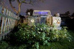 晚上卡车 免版税库存图片