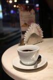 晚上咖啡 库存照片