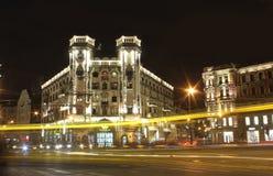 晚上圣彼得堡,俄罗斯 图库摄影